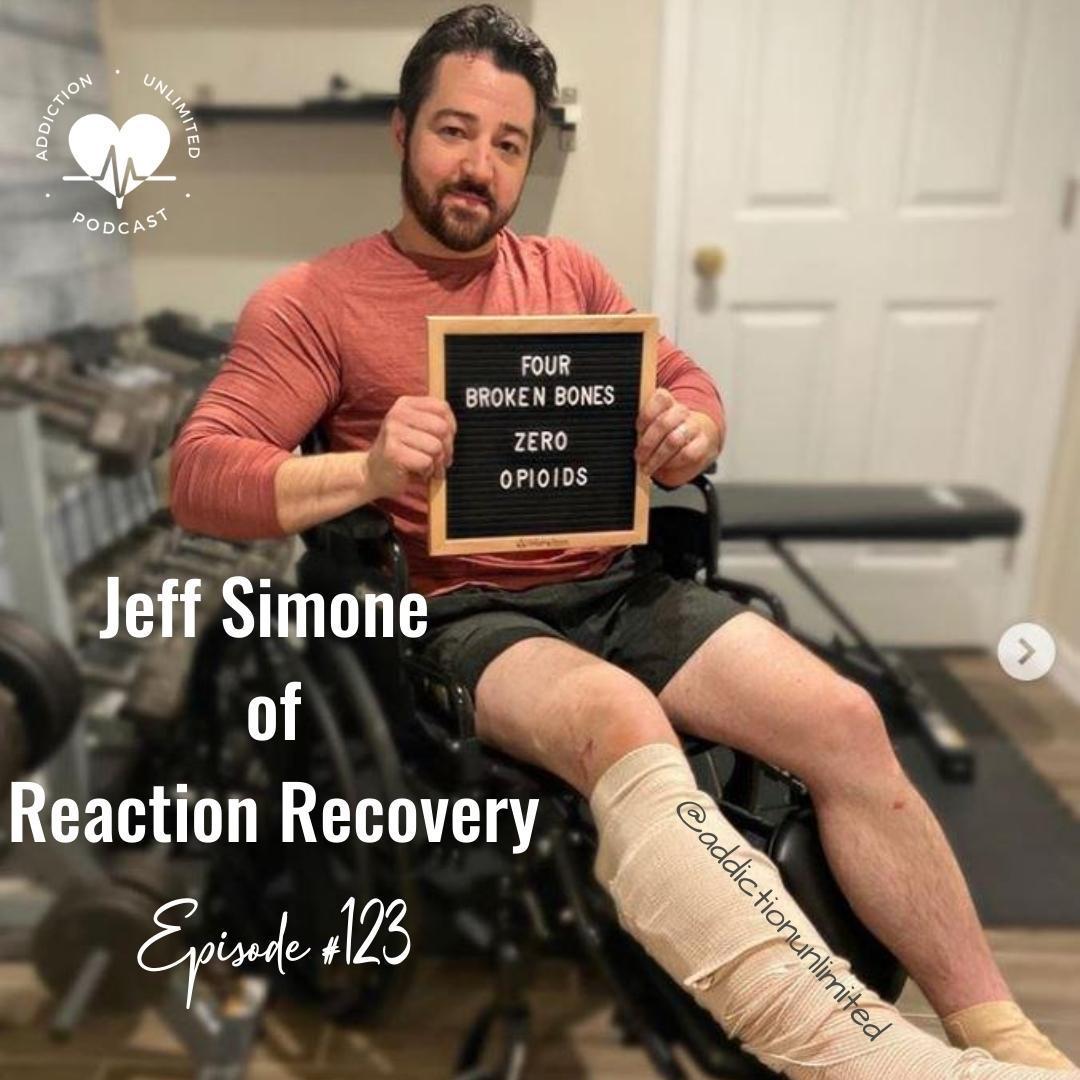 Jeff Simone Reaction Recovery